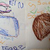 un dessin libre qui en raconte beaucoup sur l'évolution de ce petit monde (avec un enfant de 4 ans) - Le blog de fannyassmat, le quotidien d'une assistante maternelle en mille et une anecdotes