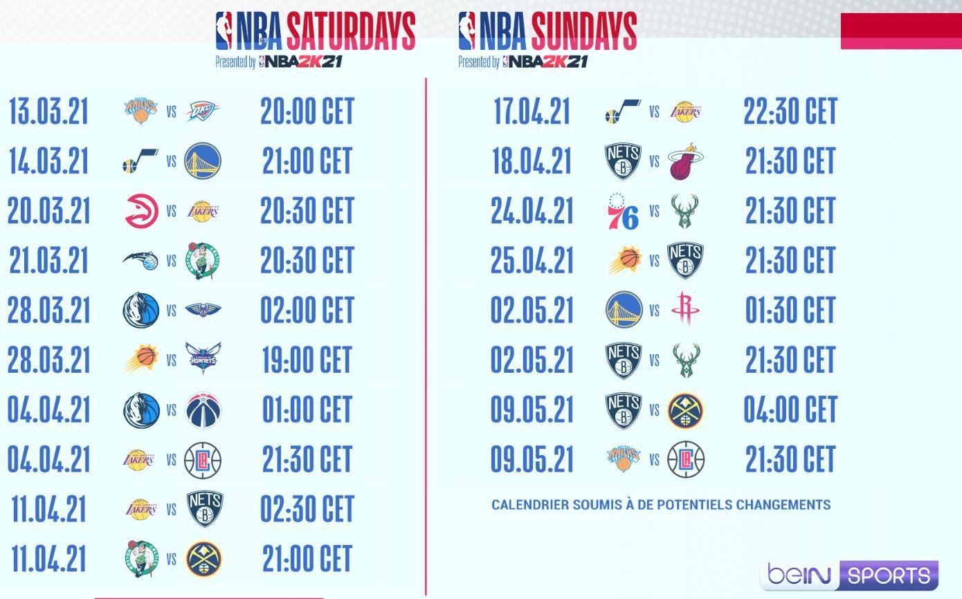 Los Angeles Lakers / Utah Jazz en direct samedi sur beIN SPORTS 1