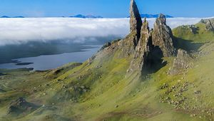 ECOSSE : SKYE ISLANDS & HIGHLANDS : LA NATURE A L'ETAT BRUT