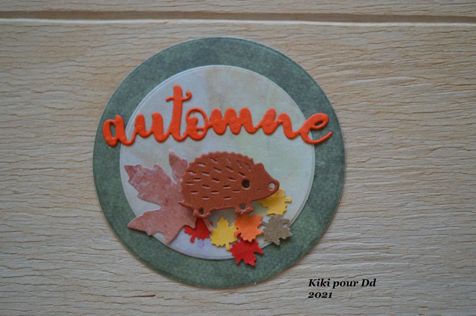 """Echange n°18 """"ATC COIN AUTOMNE"""" - GROUPE 1"""