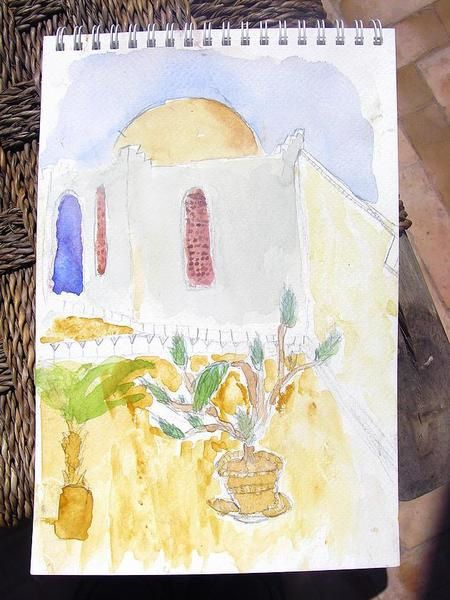 Album - Aquarelle à Marrakech