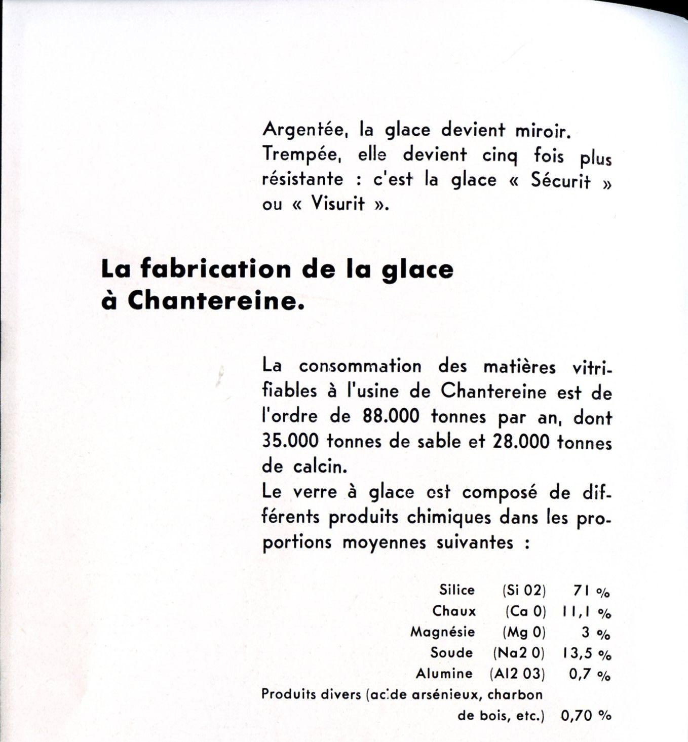 Album - Chanterine, 1956 visite de la Glacerie de Chantereine