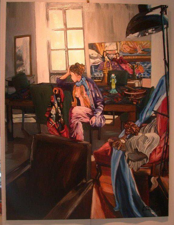 Oeuvres d'Artistes Clamecycois d'aujourd'hui et peintres de la région ayant exposé à Clamecy
