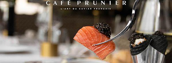 Avec Café Prunier, le caviar fait son come back !