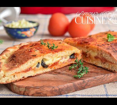 Comment faire une pizza calzone réussie, recette en vidéo
