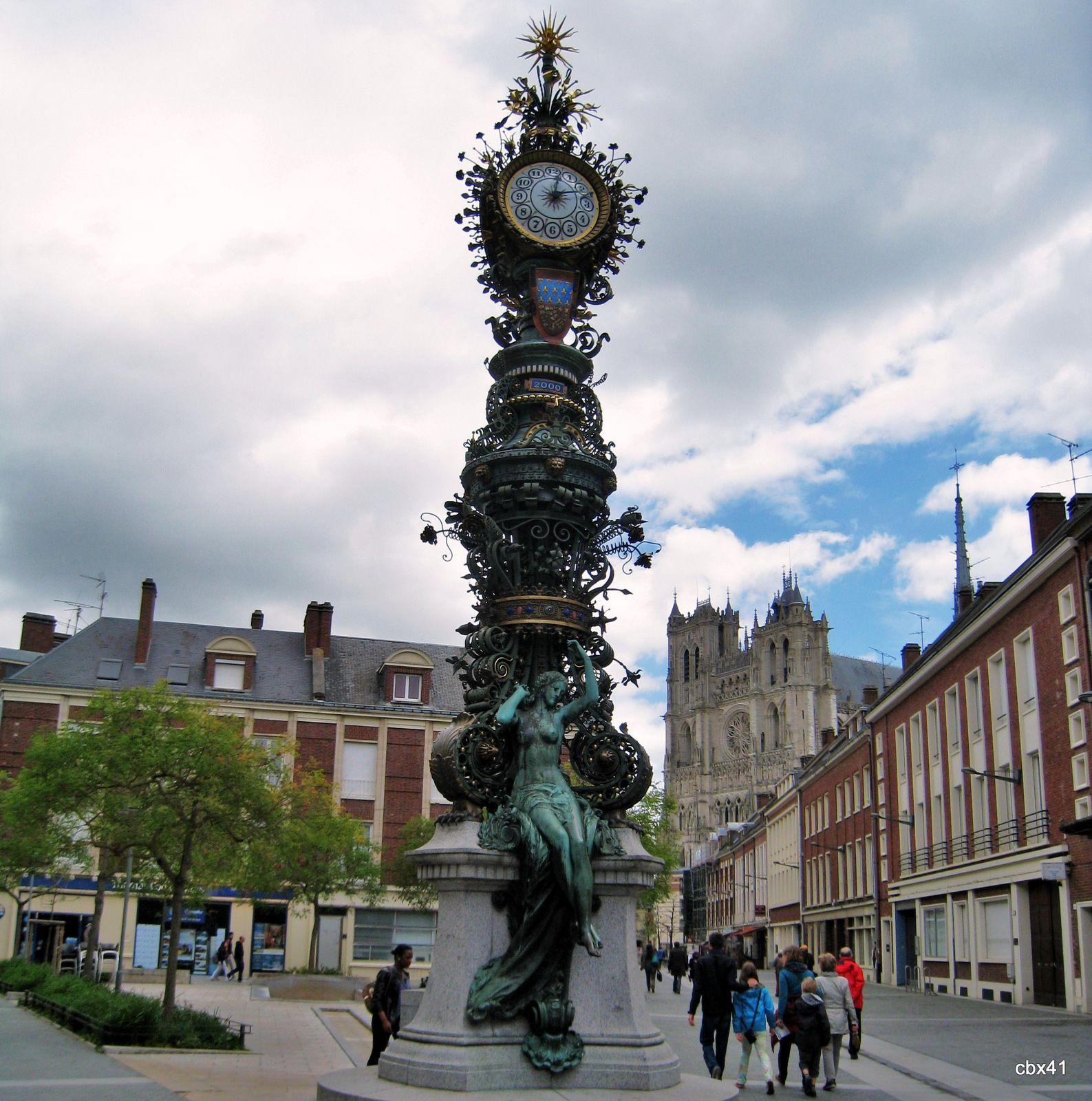 Horloge Dewailly, Amiens