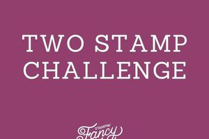 Fancy Friday 2 stamp set Challenge