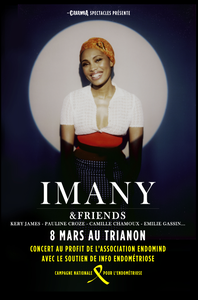 8 mars : Imany en concert au Trianon contre l'endométriose