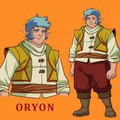 [CDD.3] : News N°2 : Oryon, Soutien Élémentaire et arrière grand-père de Shimy ! - Les Légendaires FAN