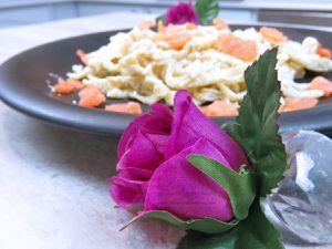 Recette - Cuisine - Plat - Accompagnement - Pâtes fraiche - Saumon - Ricotta - Robot - Kenwood - Accessoire - Laminoire
