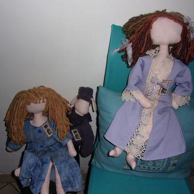 les poupées qui sont prêtes pour l'adoption !