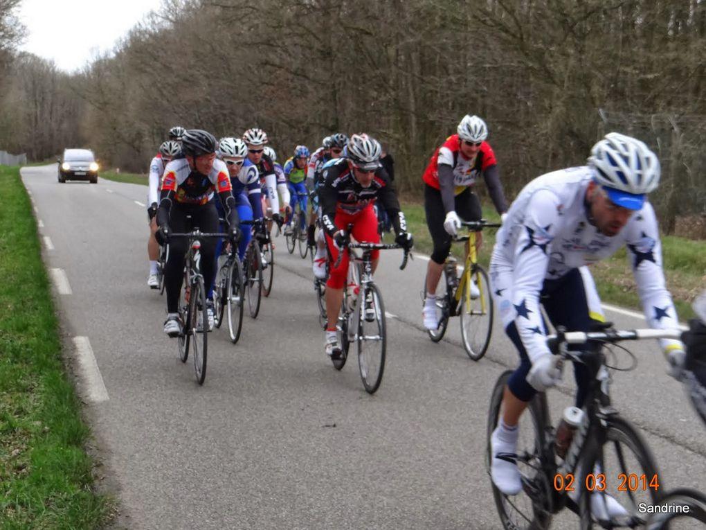 Course UFOLEP la Chapelle Réanville le 2 mars 2014