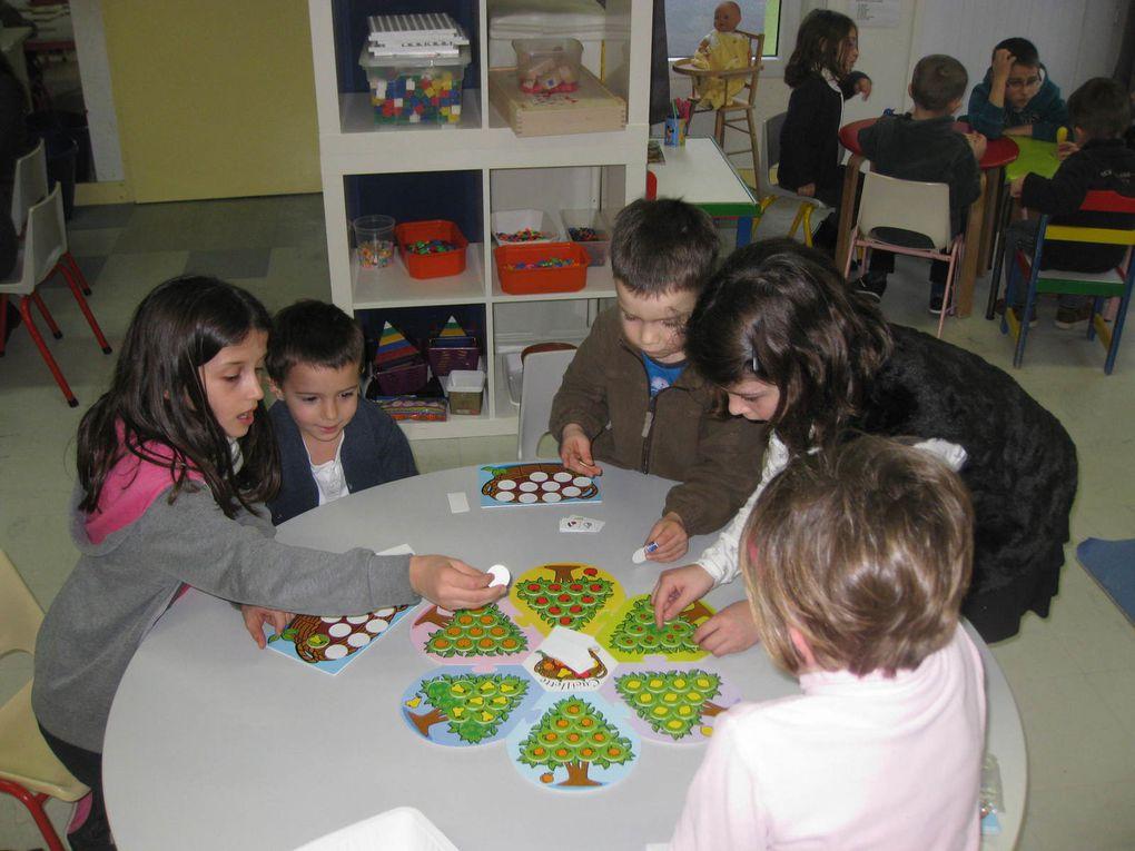 MS Régine et CE2 Morgane : les jeux