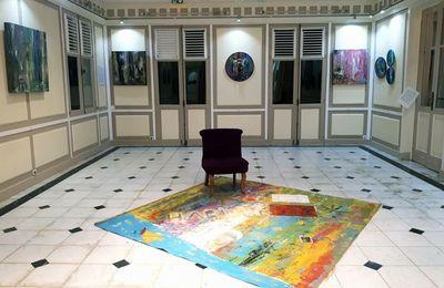 """Exposition """"HABITER"""" Michèle ARRETCHE villa Chanteclerc avril 2018"""