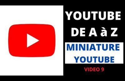 🔴 MINIATURE YOUTUBE - Facile - Gratuit - Sans logiciel - TUTO YOUTUBE