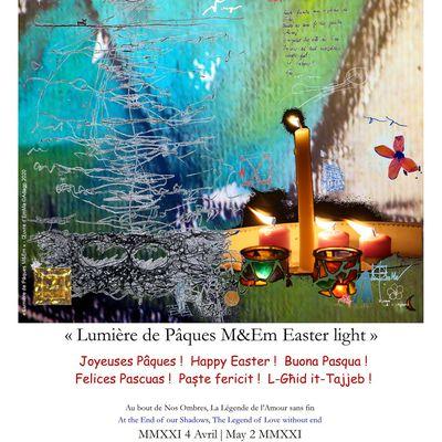 Lumière de Pâques M&Em Easter light 2021