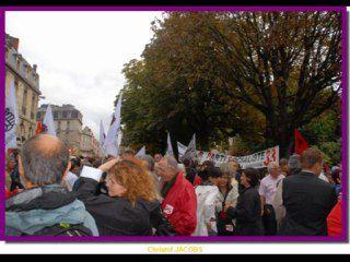 Rétro-actualités 7 Septembre 2010:Manifestation pour le maintien de la retraite à Bordeaux