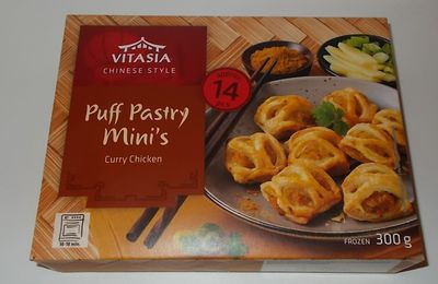 Lidl Vitasia Puff Pastry Mini's Curry Chicken