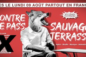 TERRASSES SAUVAGES CONTRE PASS SANITAIRE