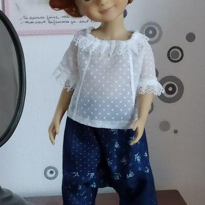 Une tenue bohème pour Lou (Bella) poupée Fashion Friends