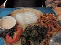 La Barben, pause restaurant