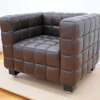 Où trouver une chaise en cuir pas chère?