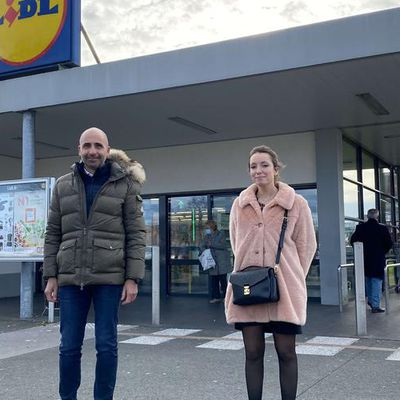 Rénovation du Lidl à Cenon