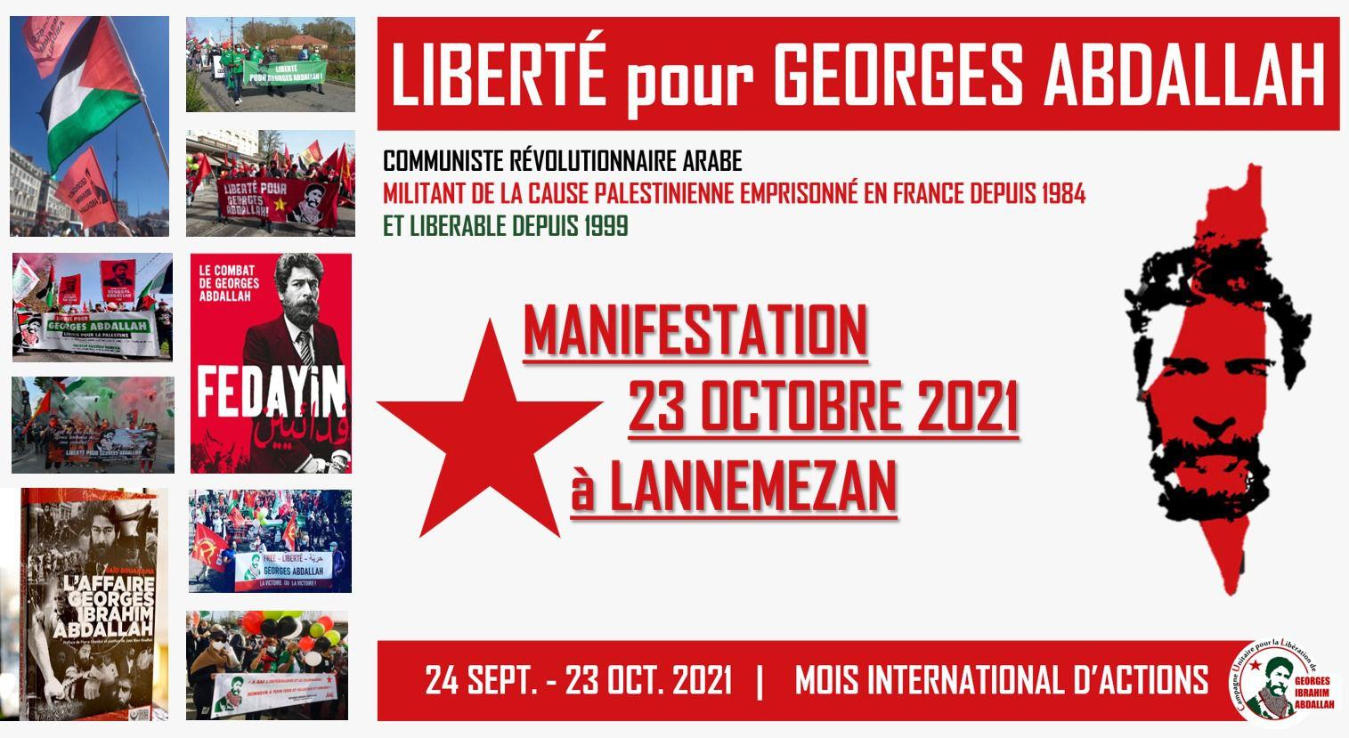 Feyadin - Le combat de Georges Abdallah - le 6 octobre aux Studios à Brest à 20h, suivi d'un débat avec les réalisateurs du collectif Vacarmes
