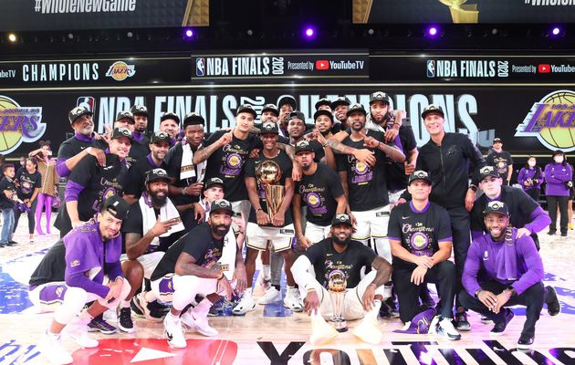 Les Lakers remportent leur 17ème titre de champion NBA de l'histoire !