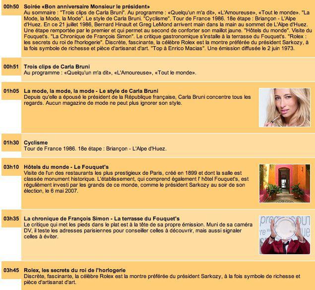 Musique/Humour et docs-articles 2008/09-1