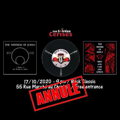 🎵 The mistress of Jersey @ Rock Classic - 17/10/2020 - annulé