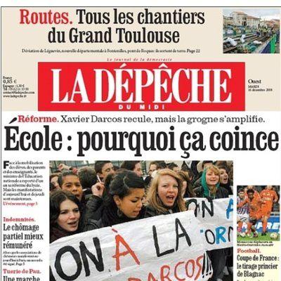 Quel journal peut-on lire à Toulouse ?