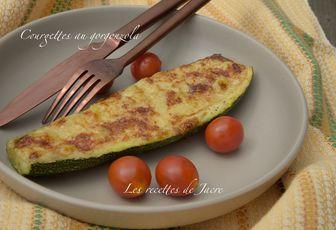 Courgettes au gorgonzola