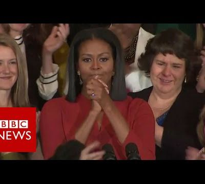 Michelle Obama's final First Lady Speech