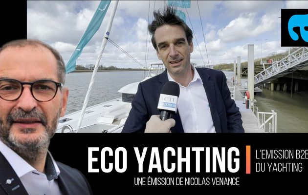 Interview - Premiumisation pour Lagoon, leader mondial des catamarans de plaisance. Emission de 8 minutes