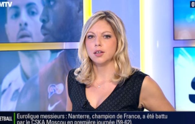 2013 10 18 - 07H14 - CAROLE COATSALIOU - BFM TV - PREMIERE EDITION 'LES SPORTS'