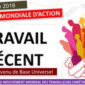 Message du 7 octobre 2018: Journée mondiale d'action pour un travail décent