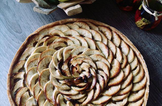 Tarte aux pommes comme en boulangerie