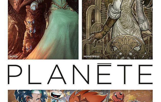 Les Légendaires-PARODIA en couverture du Delcourt Planète N°86