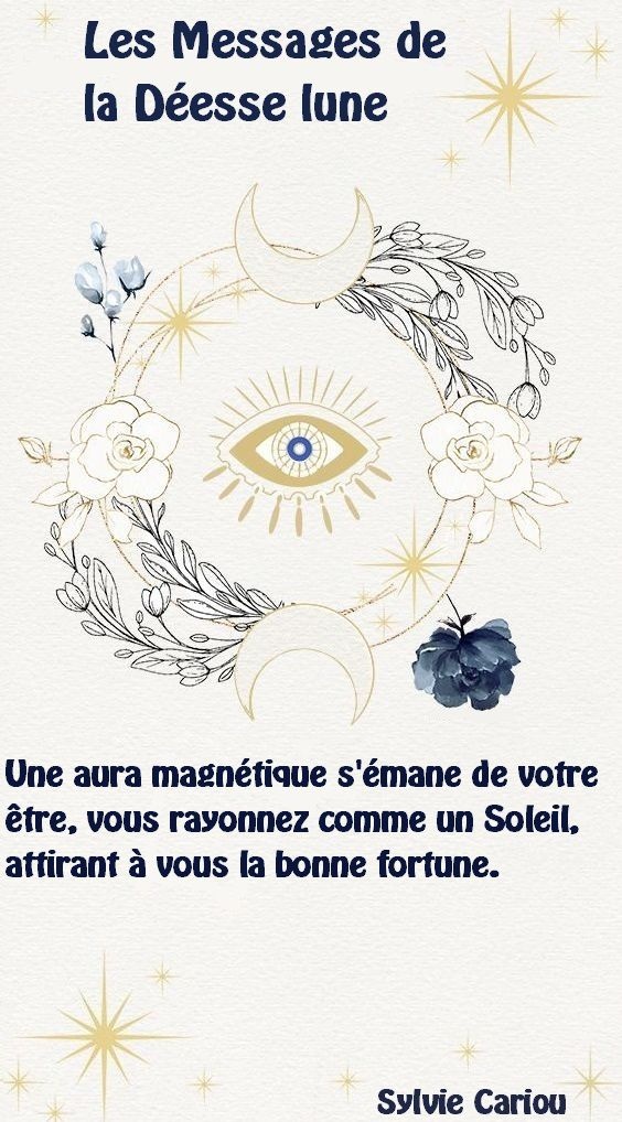 LES MESSAGES DE LA DEESSE LUNE        14 SEPTEMBRE 2020
