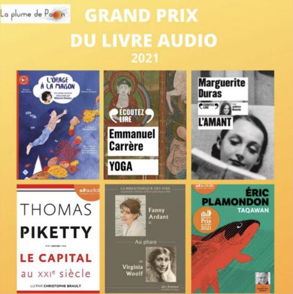 Grand prix du livre audio 2021