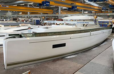 Germany - HanseYachts AG maintains its production of sailing yachts and motor boats