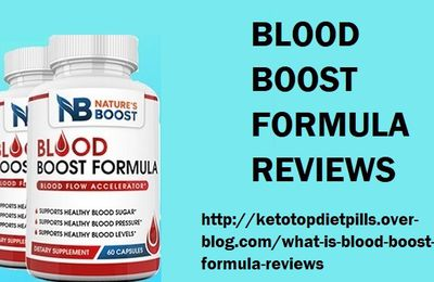What is Blood Boost Formula Reviews?