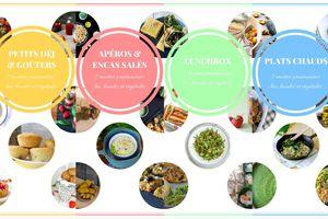 {Éco-défi n°35} 4 ebooks offerts par Echo Verts à télécharger : 28 recettes printanières, végétales et locales