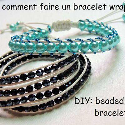 Tutoriel: comment faire un bracelet wrap