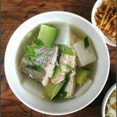 Merlin en court-bouillon au tofu et radis blanc - La Table de Diogène est Ronde