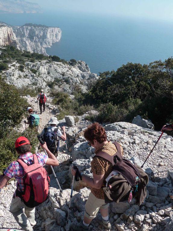 Randonnée du 17 mars 2014 : La Gardiole - Devenson