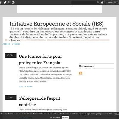 Initiative Européenne et Sociale (IES)