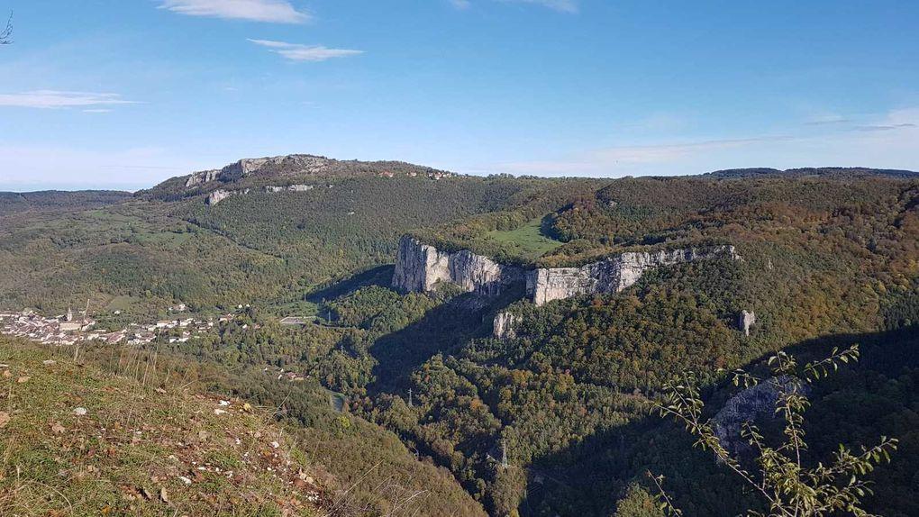 Mardi 22 Octobre : Source de la Loue et Resto à Mouthier-Haute-Pierre