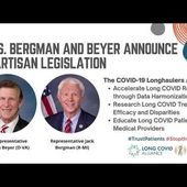 Nearly $100M in Long COVID Funding Introduced in Congress